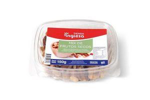 Mix de Frutos Secos Maní, Nuez Pecan, Castañas de Caju y Almendras TIENDA INGLESA 150 gr en Tienda Inglesa