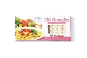 Ravioles TIENDA INGLESA de Jamón y Queso 100 Unidades en Tienda Inglesa