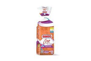 Pan BIMBO Integral Cero Rico en Fibras Molde 450 gr en Tienda Inglesa
