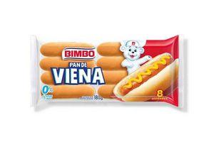Pan de Viena BIMBO 8 Unidades en Tienda Inglesa