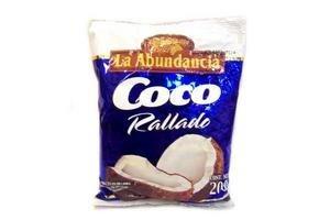 Coco Rallado LA ABUNDANCIA 200g en Tienda Inglesa