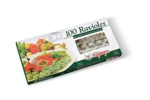 Ravioles de Verdura TIENDA INGLESA Masa Espinaca x 100 Unidades en Tienda Inglesa