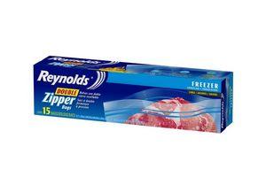 Bolsa para Freezer REYNOLDS con Cierre x15u 27x28cm en Tienda Inglesa