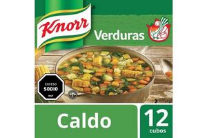 Caldo KNORR de Verduras x 12 Cubos en Tienda Inglesa