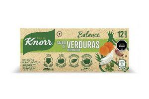 Caldo knorr de verduras x12 cubos en Tienda Inglesa