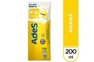 Jugo ADES Sabor Ananá 200 ml en Tienda Inglesa