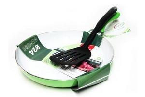 Sarten cuori follia verde 24cm en Tienda Inglesa