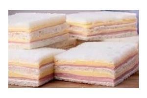 Sándwich Doble de Jamón y Queso TIENDA INGLESA 5 unidades en Tienda Inglesa