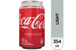 Refresco COCA COLA Light en Lata 354ml en Tienda Inglesa