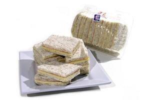 Sándwiches de Jamón y Queso Pan Negro TIENDA INGLESA 9 Unidades en Tienda Inglesa