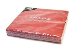 Servilletas de Papel Pap Star Lisa Grande Bordeaux 20 unidades 33x33cm en Tienda Inglesa