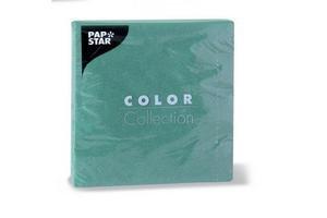 Servilletas de Papel Pap Star Lisa Grande Verde 20 unidades 33x33cm en Tienda Inglesa