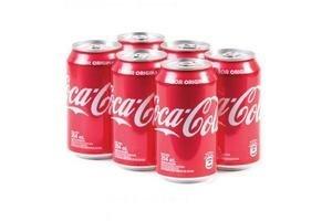 Pack de 6 Refrescos COCA COLA en Lata 354ml en Tienda Inglesa