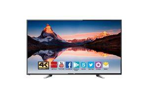 """Smart TV JVC 65"""" 4K UltraHD Quad Core Android 7.0 con 3 años de Garantía en Tienda Inglesa"""