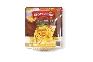 Tallarines al Huevo Gruesos LA ESPECIALISTA Envasados al Vacío 500g en Tienda Inglesa