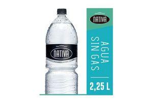 Agua Mineral Natural NATIVA Sin Gas 2.25  L en Tienda Inglesa