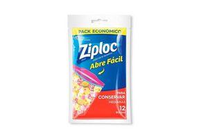 Bolsa ZIPLOC Conserva Mediana x 12 Unidades en Tienda Inglesa