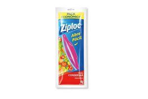 Bolsa ZIPLOC para Conservar Grandes x 10 Unidades en Tienda Inglesa