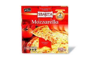 Pizza con Muzzarella y Tomate SIBARITA Pack Familiar x2 940g en Tienda Inglesa