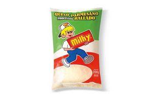 Queso Rallado Parmesano MILKY 200g en Tienda Inglesa