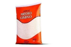 Arroz Medio Grano Blanco SAMAN 5Kg en Tienda Inglesa