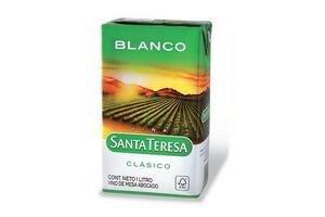 Vino Blanco SANTA TERESA Tetra 1l en Tienda Inglesa