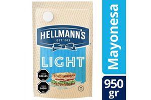Mayonesa HELLMANNS Light Doypack 950g en Tienda Inglesa
