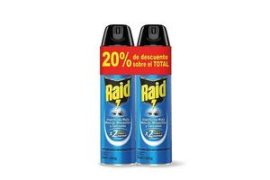 Twin Pack Raid Azul -20% en Tienda Inglesa
