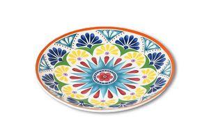 Plato 26 Mandala Rojo en Tienda Inglesa