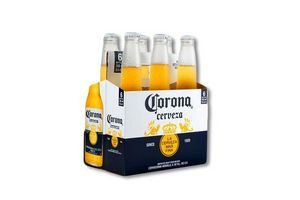 Pack 6 Cervezas CORONA Botella 355ml en Tienda Inglesa