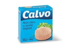 Atún Claro CALVO en Aceite Vegetal Lata 160g en Tienda Inglesa