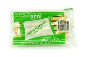 Palillos de Plástico BERI 12 Unidades en Tienda Inglesa