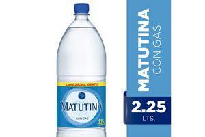 Agua Mineralizada MATUTINA Con Gas 2,25l en Tienda Inglesa