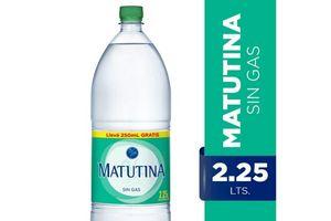 Agua Mineralizada MATUTINA Sin Gas 2,25l en Tienda Inglesa