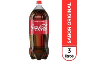 Refresco COCA COLA Descartable 3 L en Tienda Inglesa