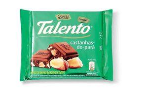 Chocolate con Castañas GAROTO Talento 90g en Tienda Inglesa