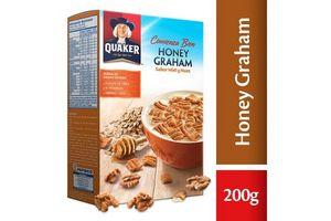 Cereal QUAKER Honey Graham 200g en Tienda Inglesa