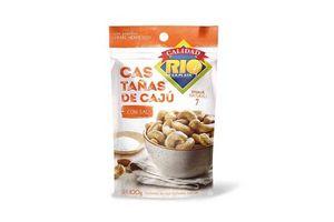 Castañas de Caju RIO DE LA PLATA  con Sal 100g en Tienda Inglesa