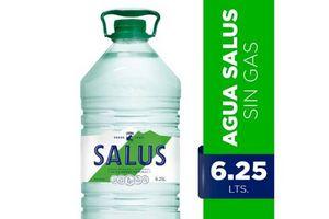 Agua Mineral Natural sin Gas SALUS 6.25  Lts en Tienda Inglesa