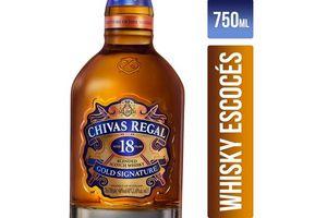 Whisky CHIVAS REGAL 18 Años 750 ml en Tienda Inglesa