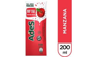 Jugo ADES Sabor Manzana 200 ml en Tienda Inglesa