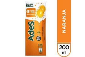 Jugo ADES Sabor Naranja 200 ml en Tienda Inglesa