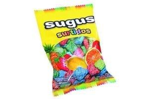 Caramelos Masticables Surtidos SUGUS 150g en Tienda Inglesa