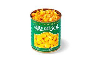 Choclo VALLE DEL SOL en Grano Lata 200 gr en Tienda Inglesa