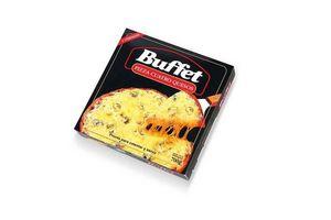 Pizza Cuatro Quesos BUFFET Pronta para Calentar con 2 Unidades 700 gr en Tienda Inglesa