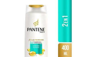 Shampoo PANTENE 2 en 1 Clásico 400ml en Tienda Inglesa