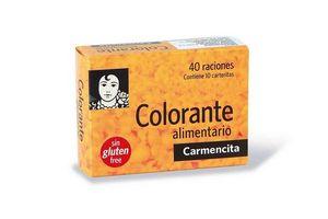Colorante Alimentario CARMENCITA 10 Sobres en Tienda Inglesa