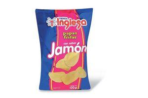 Papas Fritas TIENDA INGLESA sabor Jamón 120g en Tienda Inglesa