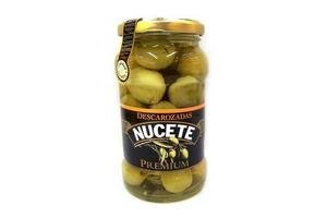 Aceitunas Verdes Nucete Premium sin Carozo en Frasco 360g en Tienda Inglesa