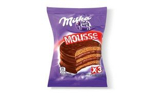 Alfajor Mousse de Chocolate Triple MILKA 55g en Tienda Inglesa